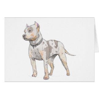 De Hond van de Stier van de Kuil van de Schets van Kaart