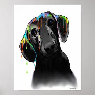 De Hond van de tekkel Poster
