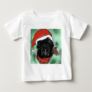De Hond van de Zijde van Havana Baby T Shirts
