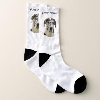 De hond van great dane sokken