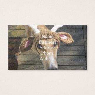 De hond van herten - leuke hond - whippet visitekaartjes