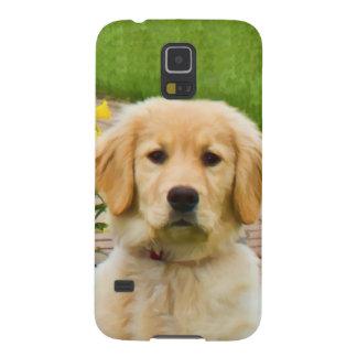 De Hond van het golden retriever Galaxy S5 Hoesje