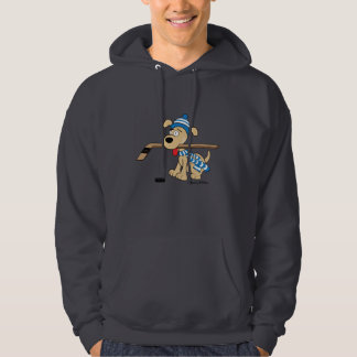 De Hond van het hockey Sweatshirt Met Hoodie