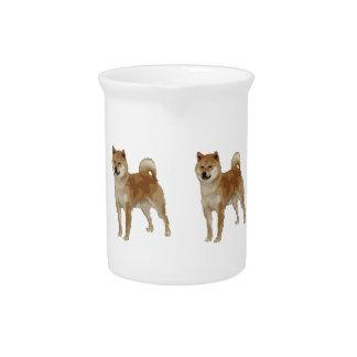 De Hond van Inu van Shiba Pitcher