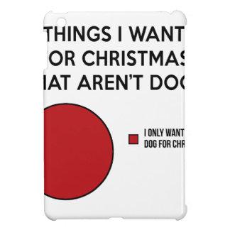 De Hond van Kerstmis Hoesjes Voor iPad Mini