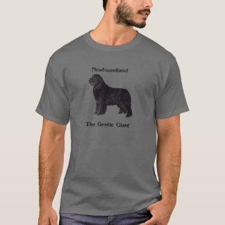 De Hond van Newfoundland de Zachte Reus T Shirt