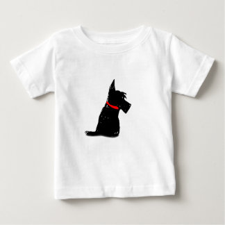 De Hond van Scottie Baby T Shirts