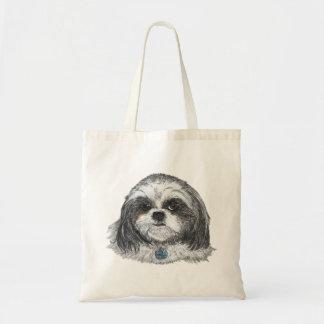 De Hond van Tzu van Shih Draagtas