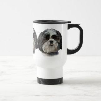 De Hond van Tzu van Shih Reisbeker