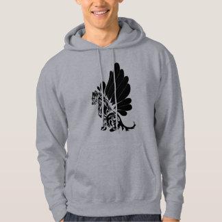 De Hond van vleugels Sweatshirt Met Capuchon