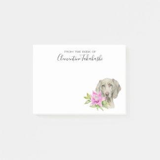 De Hond van Weimaraner en Waterverf | van de Lelie Post-it® Notes