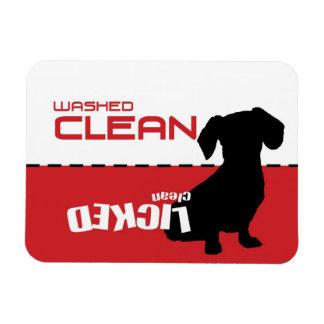 De Hond van Weiner, de Magneet van de Afwasmachine
