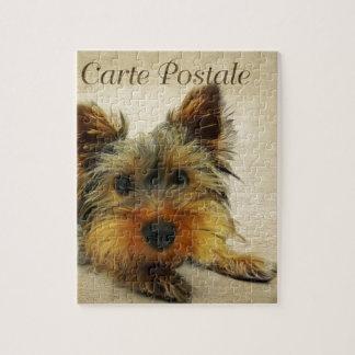 De Hond van Yorkshire Terrier Puzzel