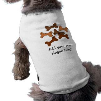 De Hondebrokjes van het been: Klantgerichte Slogan T-shirt