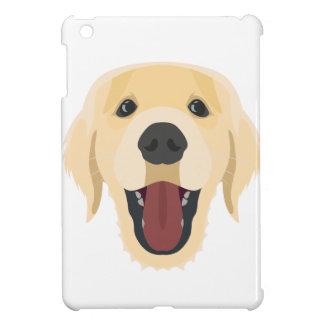 De honden van de illustratie zien Gouden Retriver iPad Mini Cover