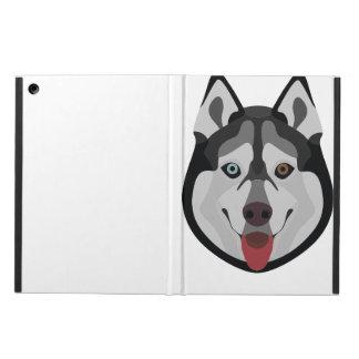 De honden van de illustratie zien Siberische Schor iPad Air Hoesje
