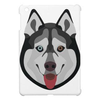 De honden van de illustratie zien Siberische Schor iPad Mini Cover