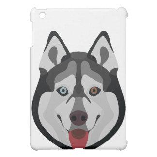 De honden van de illustratie zien Siberische Schor iPad Mini Hoesjes