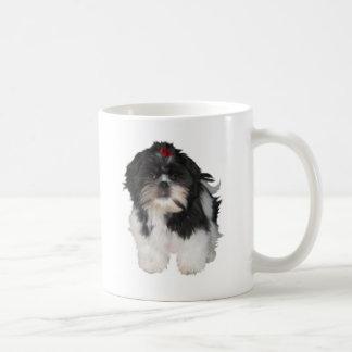 De Honden van het Puppy van Shih Tzu van Shitzu Koffiemok