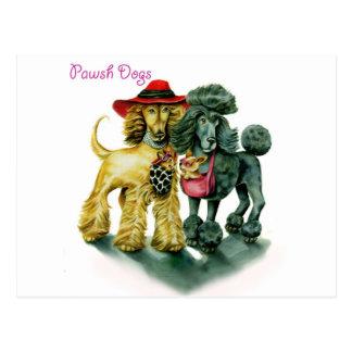 De Honden van Pawsh Briefkaart