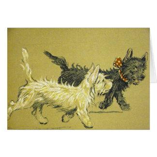De honden zijn Beste Vrienden, Briefkaarten 0