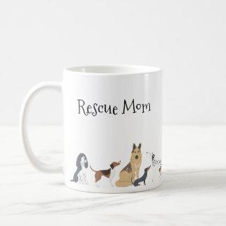 De Hondenrassen van het Mamma van de Redding van Koffiemok
