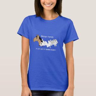 De honds T-shirt van de Therapie van de Massage -