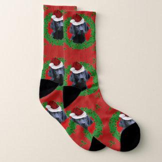 De hondsokken van de Labrador van Kerstmis Sokken