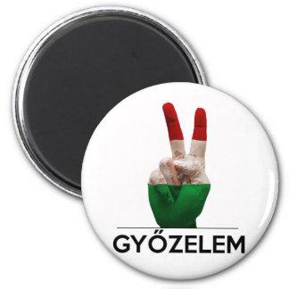 De Hongaarse Magyaarse vinger van de de Magneet
