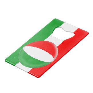 De Hongaarse Vlag van Hongarije Creditkaart Flessenopener