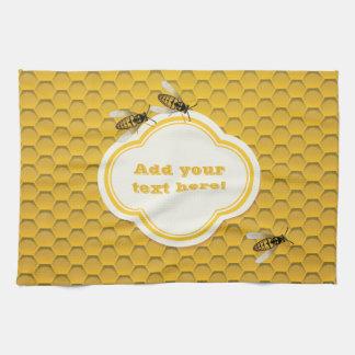 De honingraat en de Bijen Theedoeken