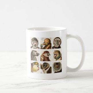 De HoofdCOLLAGE van de aap - Koffiemok