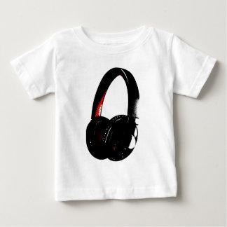 De HoofdTelefoon van het Pop-art van de Baby T Shirts
