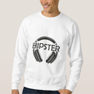 De Hoofdtelefoons Hipster van de muziek Trui