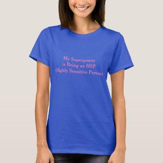 De hoogst Gevoelige T-shirt van de Grootmacht van