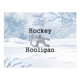 De HOOGSTE Hooligan van het Hockey Briefkaart