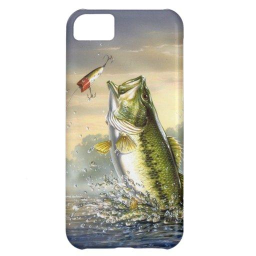 De hoogste Largemouth Actie van het Water - iPhone 5C Covers