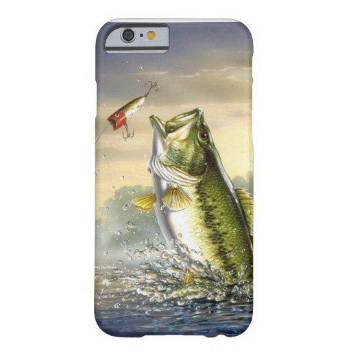 De hoogste Largemouth Actie van het Water - Barely There iPhone 6 Case