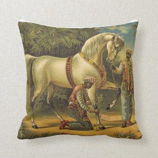 De HOOGSTE Royalty van het Paard Sierkussen