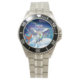 De HOOGSTE Skiër van Montana Horloges