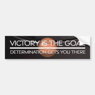 De HOOGSTE Slogan van de Overwinning van het Baske Bumpersticker