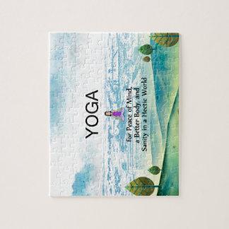 De HOOGSTE Slogan van de Yoga Legpuzzel