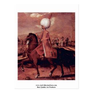 De Hoogwaardigheidsbekleders van de ottomane op Briefkaart