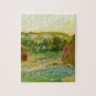 De Hooibergen van Claude Monet // Legpuzzel