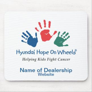 De Hoop van Hyundai op Wielen Klantgerichte Mousep Muismat