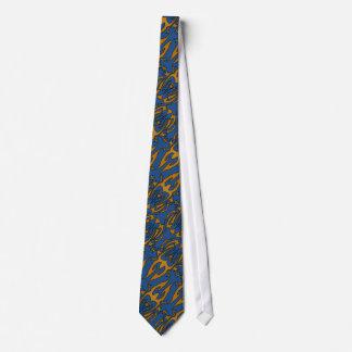 De hoornontwerp van de stroom persoonlijke stropdas