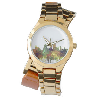 De Horizon van Anchorage, Alaska - SG - Bleekgele Horloge