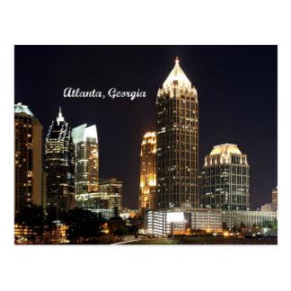 De Horizon van Atlanta, Georgië Briefkaart