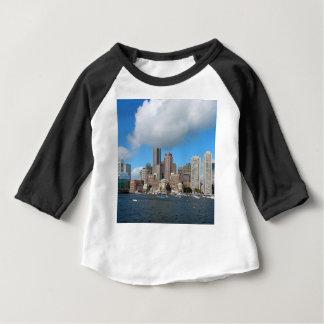 De Horizon van Boston Baby T Shirts