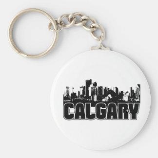 De Horizon van Calgary Sleutelhanger